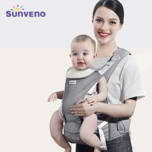 Baby Carrier Infant Hip seat Carrier Kangaroo Sling Front Facing Backpacks Breathable for Baby Travel Activity Gear
