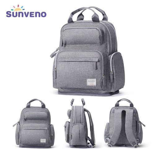 Large Capacity Diaper Bag Fashion Maternity Baby Bag Backpack Stylish Stroller Baby Diaper Bag For Mom