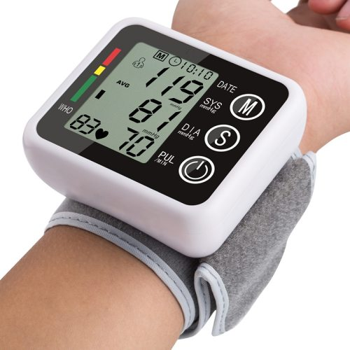 latest models Voice broadcast Automatic Wrist Digital Blood Pressure Monitor Tonometer Meter for Measuring and Pulse rate