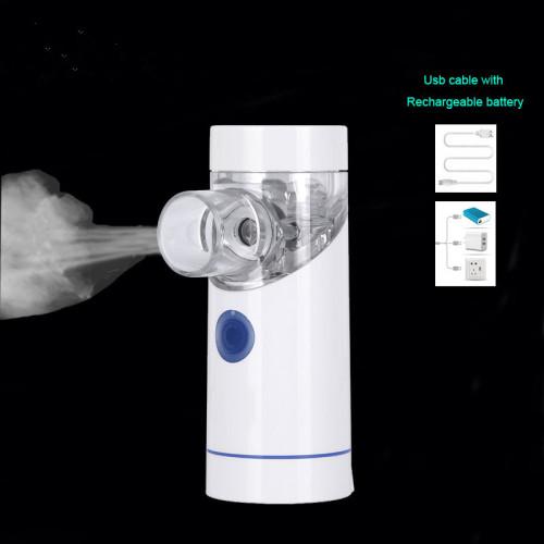 Mesh Nebulizer Medical Portable Atomizer Rechargeable Inhaler Baby Waterproof Asthma inhalator nebulizador inalador