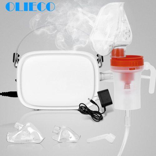 Portable Compressor Nebulizer Medication Mini Handheld Home Child Kids Steaming Device Inhaler Kit Recharge Silent Light