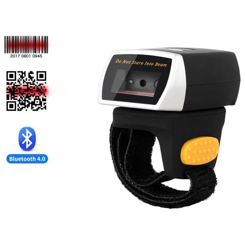 NT-R3 Wearable 1D Bluetooth Barcode Scanner AND NT-R2 Ring Bluetooth 2D QR Barcode Reader AND NT-R3 Bluetooth CCD Scanner NETUM