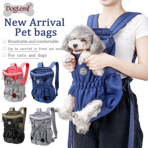 Pet dog carrying backpack travel Shoulder large Bags carrier Front Chest Holder for puppy Chihuahua Pet Dogs Cat accessories #FS