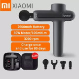 Free Shipping 2600mAh 3200 rpm Xiaomi YUNMAI Massage gun Deep Muscle Relaxation Fascia Massager 3 Modes Body xiaomi massager with carrying case