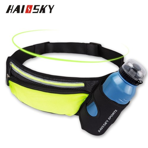 Haissky Waist Bag Belt Water Bottle Pouch Waist Pack Sport Phone Case For iPhone X 8 7 6 Plus Samsung S9 Huawei P10 P9 P20 Lite