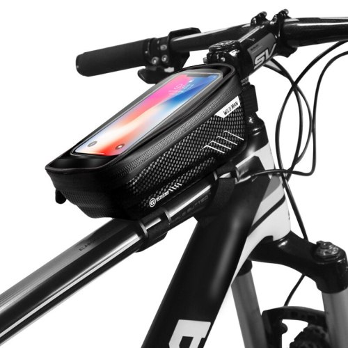 TPU Touch Screen Waterproof Bike Phone Holders For iPhone SE 2020 11 Pro Max X Xs XR 8 7 Plus Bicycle Mobile Phone Holder Stands