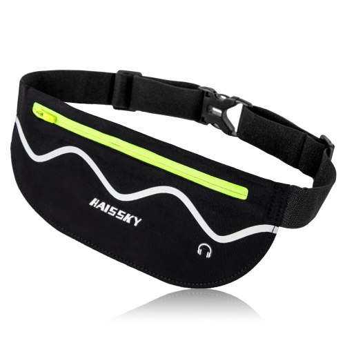 Haissky Running Sport Waist Bag Case for Samsung S10 A70 A50 Waterproof Gym Fitness Belt Pouch For iPhone Xs Max XR X Huawei P30
