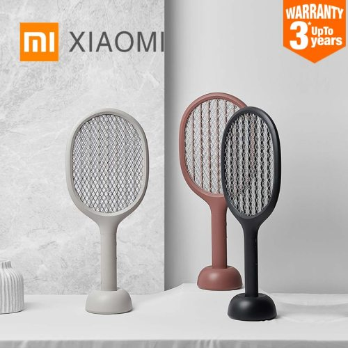 XIAOMI MIJIA Electric mosquito swatter P1 USB rechargeable mosquito killer lamp 2200V Handheld fly killer racket home products