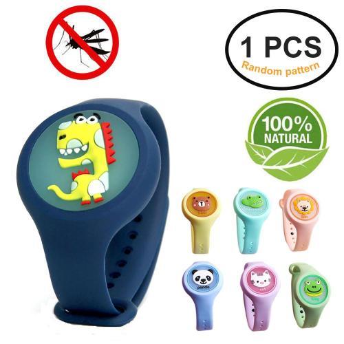 Luminous Mosquito Repellent Bracelet Vartoon Mosquito Repellent Watch Mosquitoes Prevention for Children in Summer