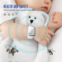 Mosquito Repellent Bracelet Adult Kids Anti Mosquito Killer Ultrasonic Pest Insect Drive Wristband USB Charging Watch Repellents