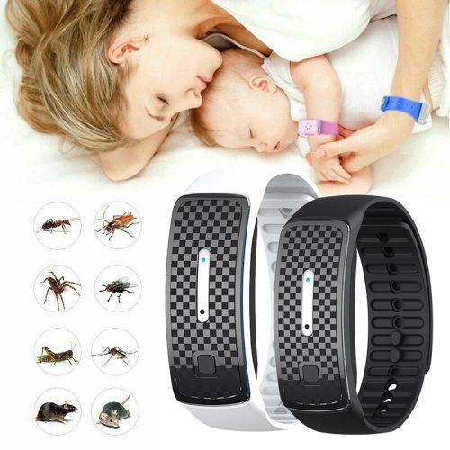 Ultrasonic Mosquito Repellent Bracelet Kids Waterproof Pest Insect Drive Anti Mosquito Wristband Adult Ultrasonic Mosquito Watch