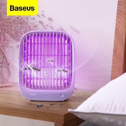 Baseus LED Mosquito Killer Lamp UV Light USB Electric Insect Killer Bug Zapper Trap Anti Mosquito Lantern Pest Repellent Lamp