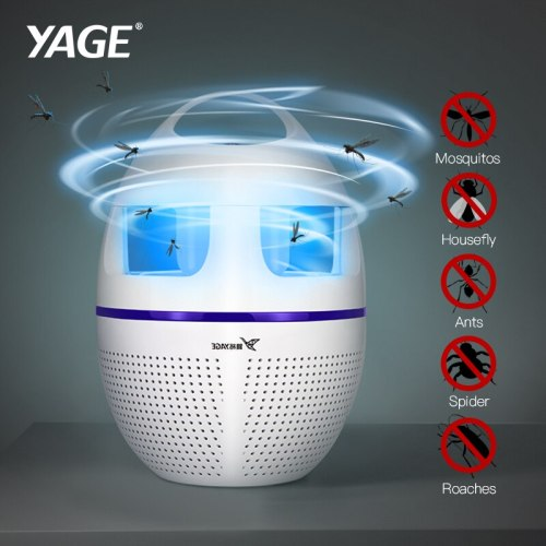 Garden Supplies Pest Control Mosquito Killer Lamp Led Killer Moth Purple Light LED Bug Zapper Fly Lamp Trap Wasp Pest Wind Power