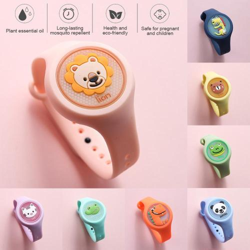 New Style Lightweight Mosquito Repellent Watch for Kids Wearable Mosquito Repeller Bracelet For Kids Tools