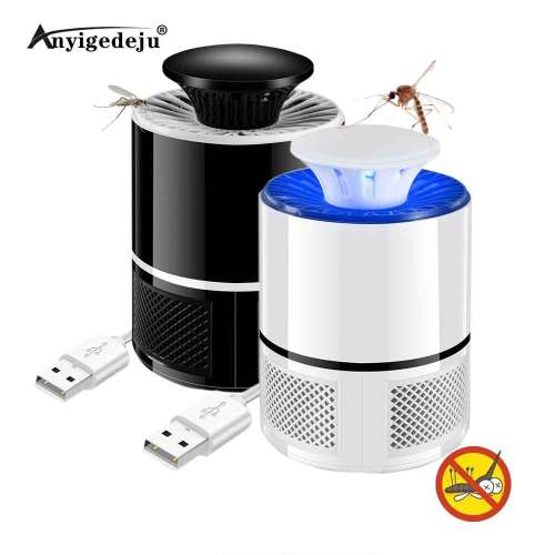 8 LED Meijuner Mosquito Killer Lamp USB Electric No Noise No Radiation Insect Killer Flies Trap Lamp Anti Mosquito Lamp Home