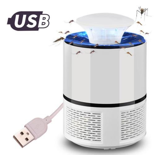 Ultraviolet Mosquito Trap Photocatalyst Mosquito Killer No Radiation Safe Mosquito Lamp USB Charging Mosquito Trapper