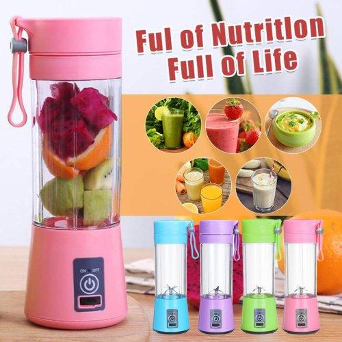 portable blender usb mixer  electric juicer machine smoothie blender mini food processor personal blender cup juice blenders