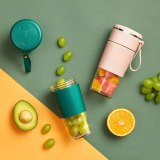 Personal Smoothie Blender, Portable Blender Travel, Battery Powered USB 300ML Juicer Electric For Home,Office,Sports,Outdoors