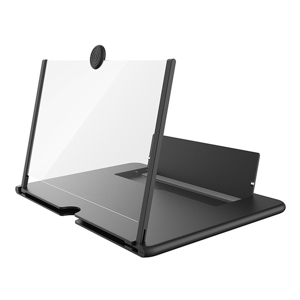 10 Inch Mobile Phone Screen Amplifier 3D Effect High Definition Large Screen with Desk Holder Magnifying Folding for Movie Game