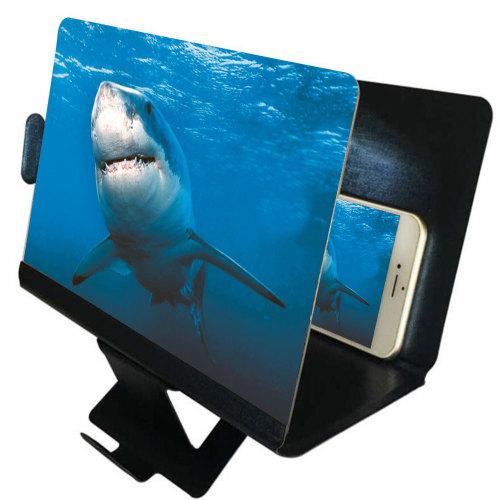 Universal Mobile Phone Screen Magnifier 3D Enlarger Magnifying Video Amplifier Projector Bracket Desktop Holder Stand For Phone