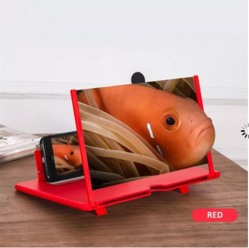 12 inch Pull Typer HD Mobile Phone Screen Magnifier Foldable 3D Screen Amplifier Mobile Phone Holder Stand ampliador de pantalla