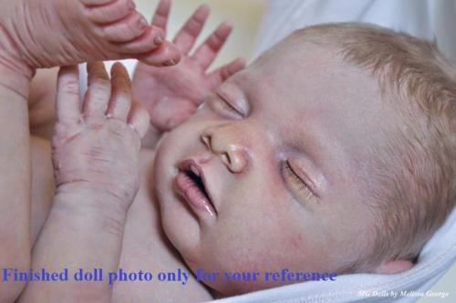 Rare limited edition Chloe by Debbie De  authentic original reborn doll kit,collectibles