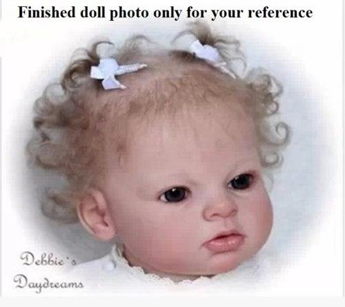 Hot selling Unpainted Reborn Doll Kits Arianna DIY blank kit soft silicone vinyl