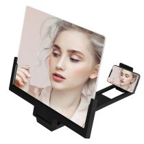 14 inch Mobile Phone Screen Magnifying Glass Stereoscopic Video Screen Amplifier Foldable Phone Bracket Tablet Holder