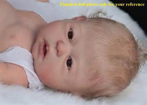 Dakota reborn doll kit DIY unpainted blank doll kit very soft full vinyl body reborn doll kit
