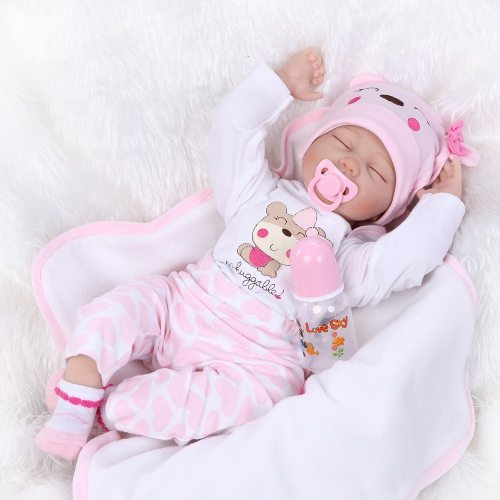 40CM Soft Silicone Reborn Baby Dolls Vinyl Dolls For Girls Toys,  Baby Dolls for Princess Children gift