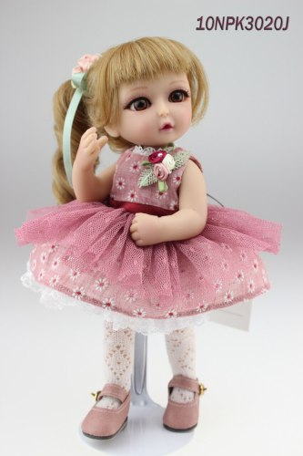 Handmade cute fairy doll mini stunning doll with joints valentine's gift
