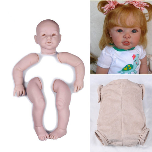 29inch reborn doll kit very big size todder soft vinyl unfinished DIY doll parts