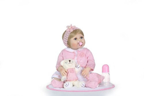 56CM big baby full silicone  body bebe doll  reborn baby dolls boneca reborn realista  toys action figure Xmas Gift for kids
