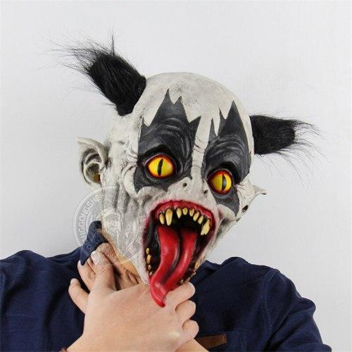 Monster Halloween Latex Mask Headgear Scary Halloween Zombie Mask Cosplay Mascaras De Latex Frighten Halloween Party Props