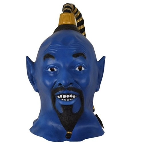 Movie Halloween Latex Mask Blue mascara terror Halloween Party Supplies Scary Prop Cosplay Halloween Decor Scary Halloween Mask