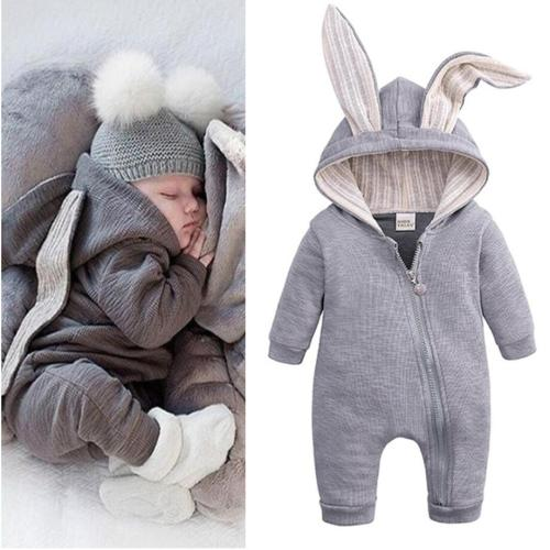 Infant Clothing Big Ears Autumn Winter Overalls Baby Rompers For Baby Girls Jumpsuit Halloween Costume Newborn Baby Boys Clothes