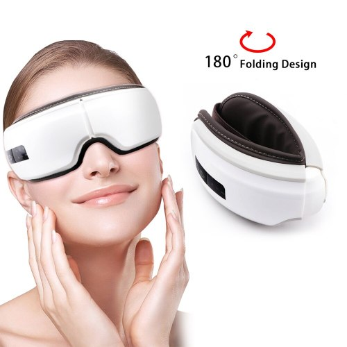 Eye Massager Wrinkle Fatigue Relieve  Vibration Hot Compressing Air Pressure Therapy Massage Eye Care Device
