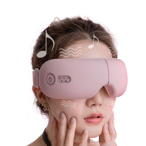 Bluetooth Smart vibration Eye Massager Eye Care Device hot compress Glasses instrument Misic Foldable eye protection massager