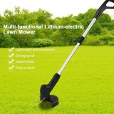 2020 Hot USB Electric Lawn Mower Portable Cordless Grass Trimmer Auto Release String Cutter Easy Mowing Home Garden Lawn Tools