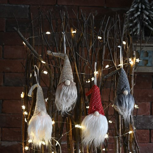 Merry Christmas Decoration For Home 2020 Christmas Table Ornament Christmas Faceless Doll Light Xmas Navidad Noel Gifts