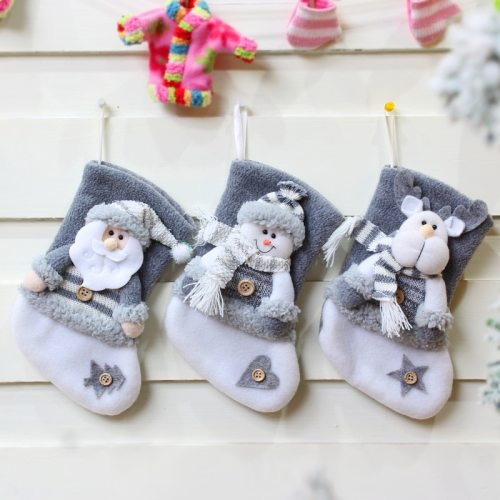 Christmas Snowman Santa Pendant Christmas Ornaments New Year 2021 Socks Christmas Decorations for Home Tree Decoration 2020 Xmas