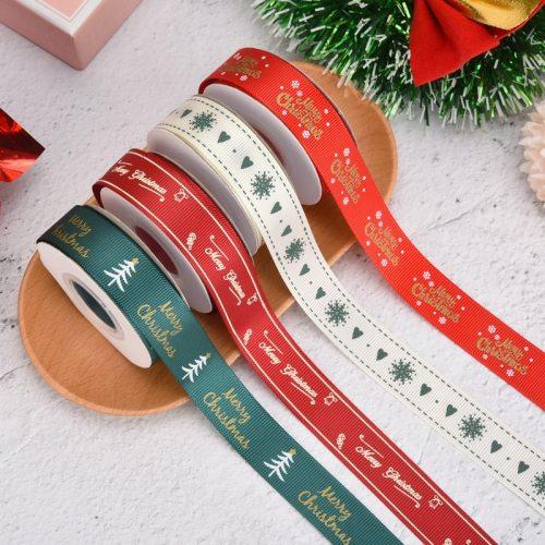 Christmas Gilding Ribbons Happy New Year Gifts Wrapping Merry Christmas Gifts for 2020 Year Christmas Decorations Navidad Natale