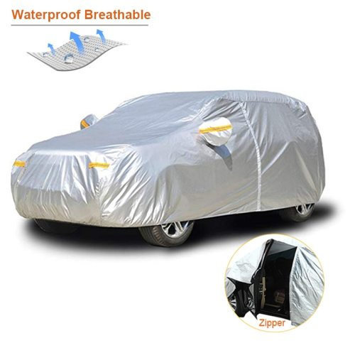 Waterproof car covers outdoor sun protection cover for car reflector dust rain snow protective suv sedan hatchback full s
