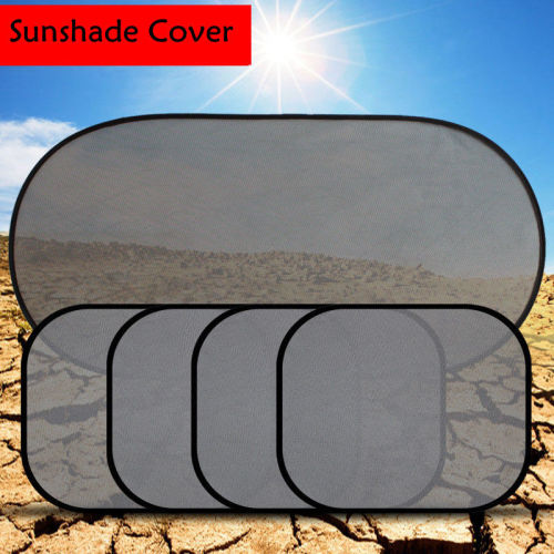 Car Side Rear Window Car Cover Sunshade Sun Visor Windshield UV Protection 3D Photocatalyst Mesh Cloth Sunvisor Car-styling