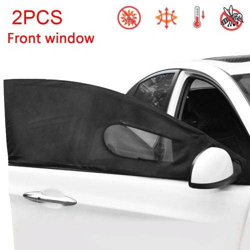 Auto Window Sun Visor Shade Mesh Cover Sunshade Sun Visor Shade Cover Shield UV Protector Fabric Window Sunshade Protective