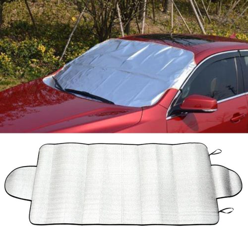 SunShade Cover Car Snow Ice Protector Visor Sun Shade Fornt Rear Windshield Cover Block Shields