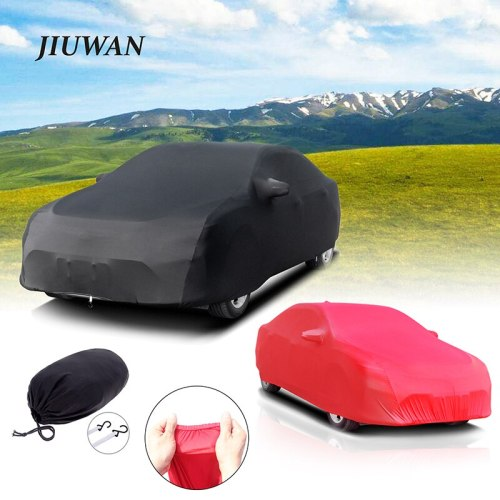 Universal Stretch Car Cover Sunproof Windproof Dustproof Scratch Resistant UV Protection for Sports Car Sedan SUV Beauty Styling