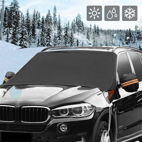Auto Windshield Snow Cover Magnetic Waterproof Car Ice Frost Sunshade Protector car dusty cover car useful tool Accessories