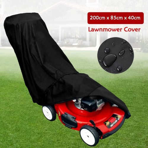 Lawn Mower Cover Waterproof Dustproof 210D Oxford Cloth Cover Outdoor Garden Sunblock Shade Greenhouse lawn mower Cover