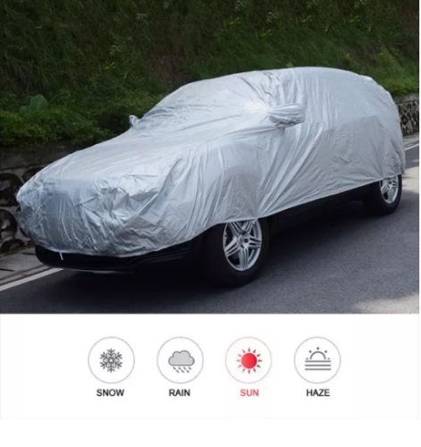 Car Cover Outdoor Protection Full Car Covers Snow Cover Sunshade Waterproof Dustproof Universal for Hatchback Sedan SUV